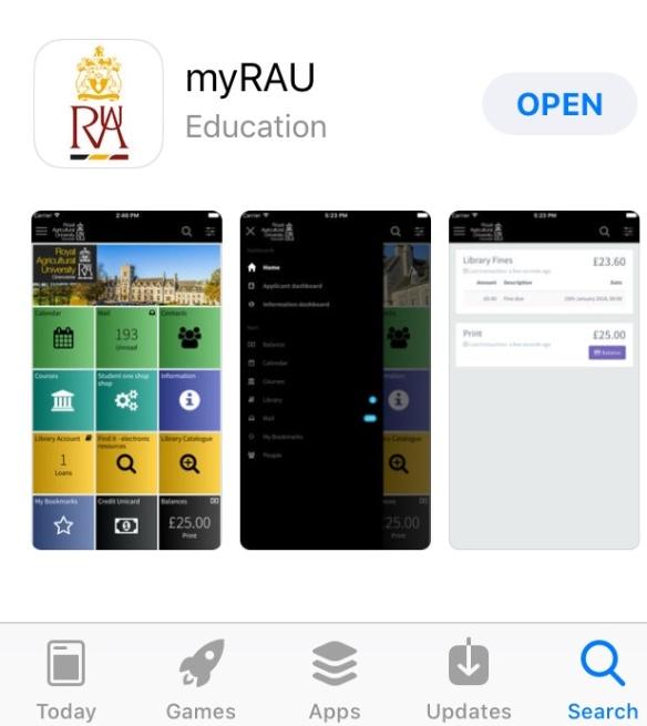 MyRAU on the App store