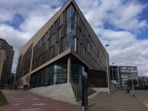 The venue for moodlemoot: Technology and Innovation Centre, Strathclyde University