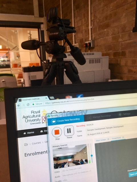 Panopto recording