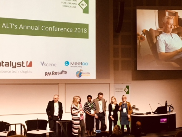 The ALTC 2018 committee team open up the conference