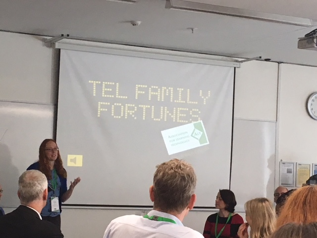Julie Voce from UCISA leads the TEL Family Fortunes