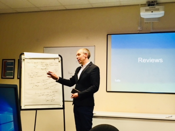 David Renfree (Talis) helps us explore our reviews process
