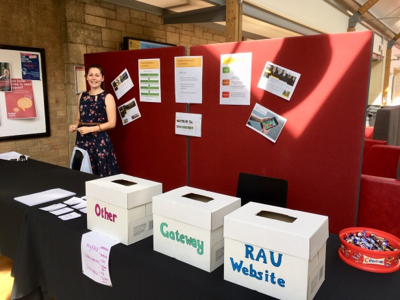 Jodie Humphries (IT) at our consultation stand
