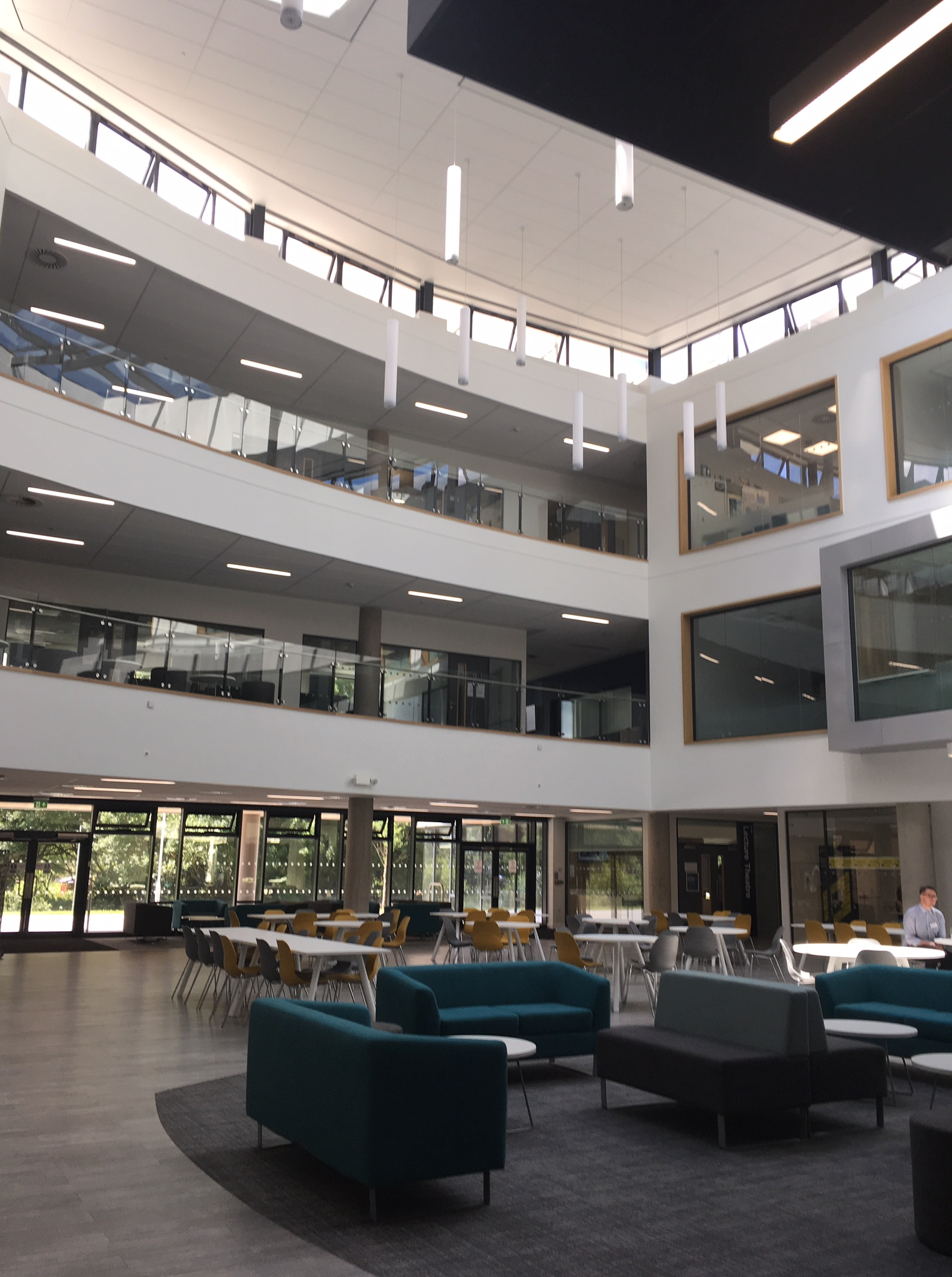 Business school and growth hub, Oxstalls campus, University of Gloucestershire