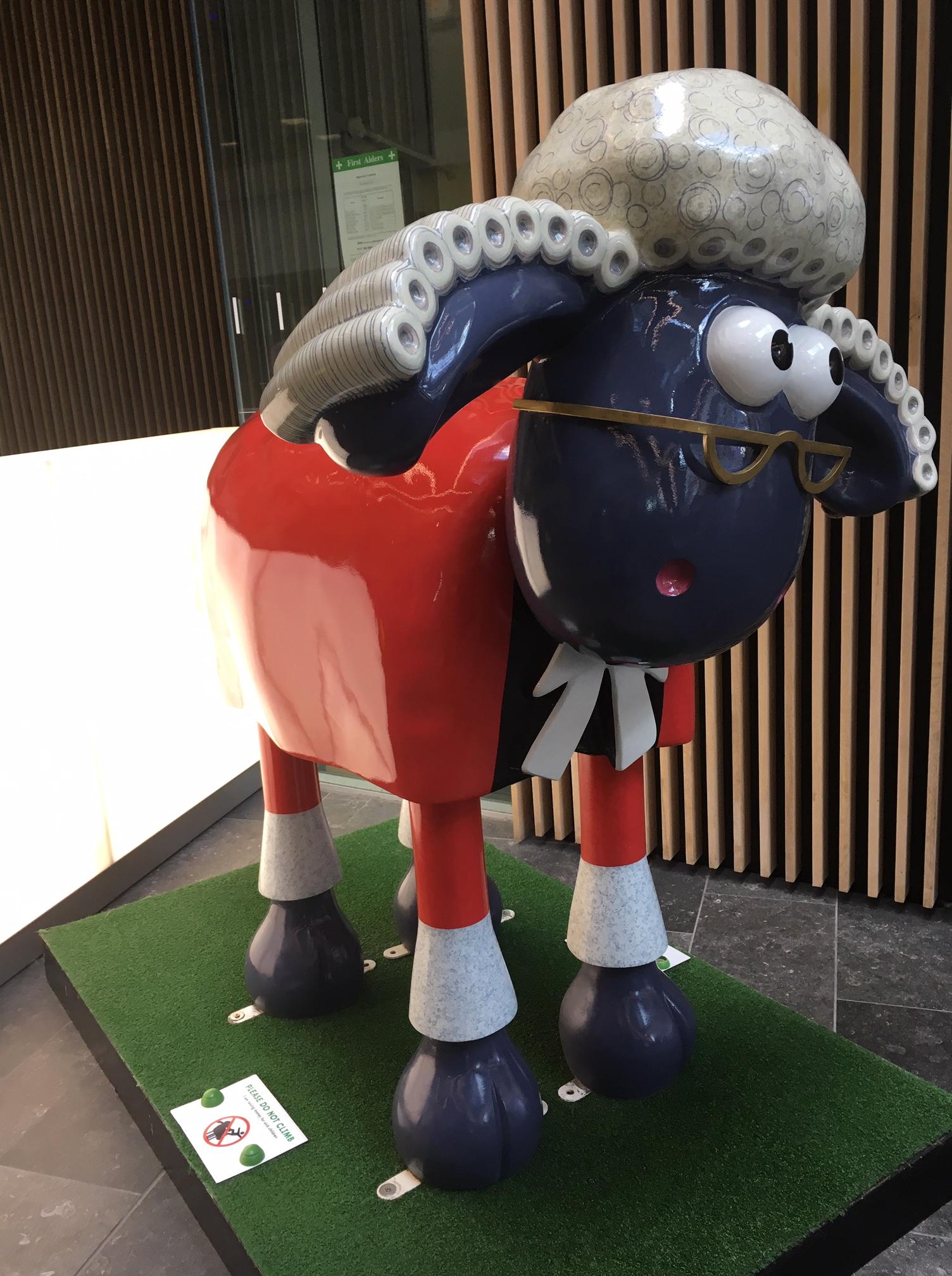 Gromit in the UWE Business school