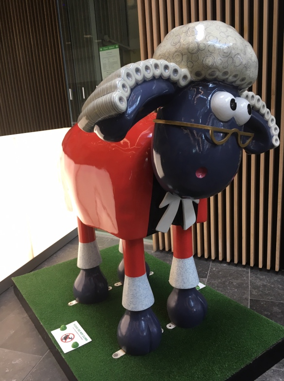Gromit in the UWE Business school
