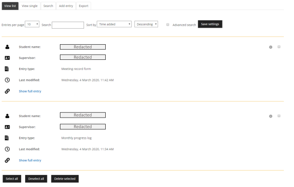 Supervision database image2