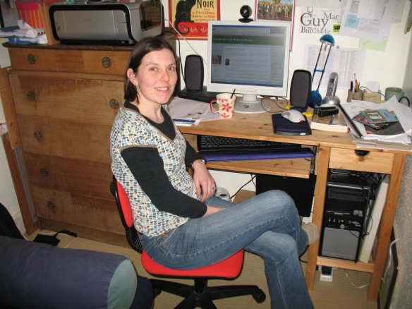 Me back in 2009 as a remote worker